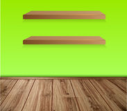 Vector shelf Royalty Free Stock Photography