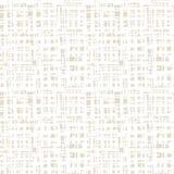 Vector shibori seamless print. Beige white grid pattern. Vector shibori line seamless print. Japanese watercolor background. Tie dye tile. Geometric cross Stock Photos