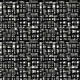 Vector shibori seamless print. Black white grid pattern. Vector shibori line seamless print. Organic watercolor background. Tie dye tile. Geometric cross Stock Images