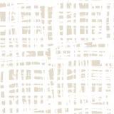 Vector shibori seamless print. Ivory white grid pattern. Vector shibori line seamless print. Japanese watercolor background. Tie dye tile. Geometric cross Royalty Free Stock Photo