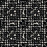 Vector shibori seamless print. White black dot pattern. Vector shibori spotty seamless print. Organic hipster watercolor background. Tie dye tile. Geometric Stock Photos