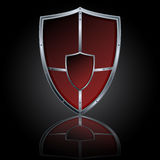 Vector shield Royalty Free Stock Photo