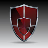 Vector shield Royalty Free Stock Images