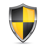 Vector shield icon Stock Photography