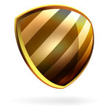 Vector shield template item. EPS 8 Stock Image