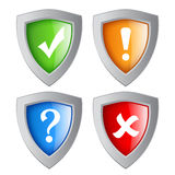 Shields security Stock Photography