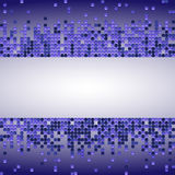 Vector shiny background with purple sequins. Horizontal background with dispersed particles. Vector illustration. Perfect for gree. Ting card, banners royalty free illustration
