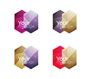 Vector shiny blank web option boxes Stock Photography