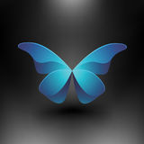 Vector Shiny Butterfly Royalty Free Stock Photo