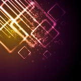 Vector shiny tech background Stock Photo