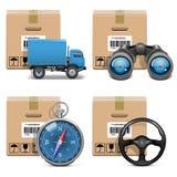Vector Shipment Icons Set 11 Stock Photos