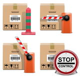 Vector Shipment Icons Set 22 Royalty Free Stock Images