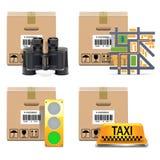 Vector Shipment Icons Set 10 Stock Photography