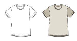 Vector shirt Royalty Free Stock Photos