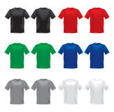 Vector shirts Royalty Free Stock Photography