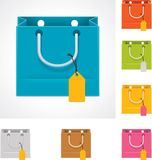 Vector shopping bag stock illustration