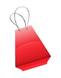 Vector shopping bag Stock Images