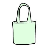 Vector shopping bag blank Royalty Free Stock Images