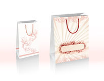 Vector shopping bags Royalty Free Stock Photo