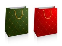 Vector shopping bags Stock Photography