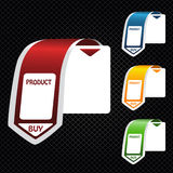 vector shopping banners Royalty Free Stock Photos