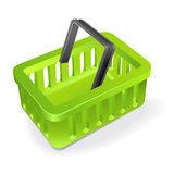 Vector shopping basket Stock Photo