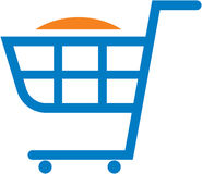 Vector shopping cart illustration Stock Photo