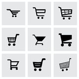 Vector shopping icon set Stock Photography