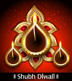 Vector Shubh Diwali Background Stock Photography