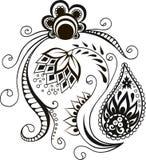 Vector sier Decoratief elementenontwerp royalty-vrije illustratie