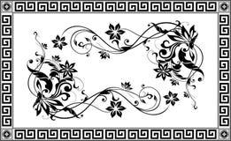 Vector sier Decoratief elementenontwerp Stock Foto