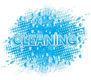 Vector sign. Cleaning. Stock Photo