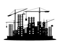 Vector sign. Construction. Royalty Free Stock Image