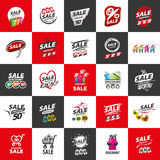 Vector sign for discounts Stock Image