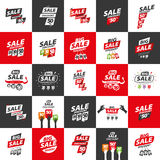 Vector sign for discounts Royalty Free Stock Image