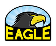 Vector sign. Eagle. Stock Photography