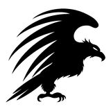 Vector sign. Eagle. Royalty Free Stock Photography