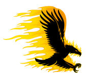 Vector sign. Eagle. Royalty Free Stock Images