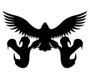 Vector sign. Eagle. Stock Images