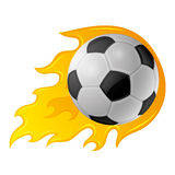 Vector sign. Football. Stock Image