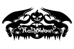 Vector sign. Halloween. Royalty Free Stock Image