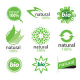 Logo welfare. Vector sign of high quality green Royalty Free Stock Images