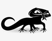 Vector sign. Lizard. Stock Image