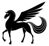 Vector sign. Pegasus. Stock Photography