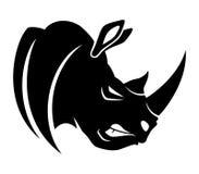 Free Vector Sign. Rhinoceros. Stock Photos - 49202483