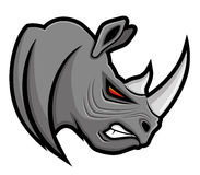Vector sign. Rhinoceros. Royalty Free Stock Photography