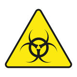 Vector sign toxic. Sign toxic isolated. Symbol Warning toxic. Sign nuclear. Radiation sign. Vector  sign toxic. Sign toxic isolated. Symbol Warning toxic. Sign Royalty Free Stock Image