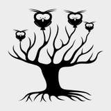 Vector sign. Tree. Royalty Free Stock Photos