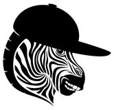 Vector sign. Zebra. Royalty Free Stock Photo