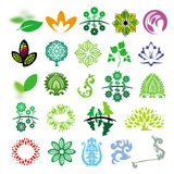 Vector signs ecology of nature Royalty Free Stock Images